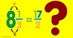 Writing mixed numbers and improper fractions should be taught conceptually. Instead of rules and procedures, try giving students time to explore!
