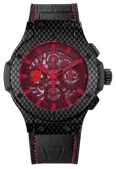 Hublot Aero Bang Red Devil 26 for Shinji Kagawa - Luxois.com