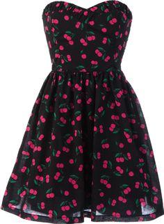 Cherry Printed Dress!
