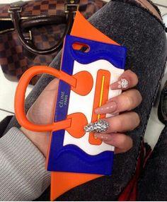 Purse phone case