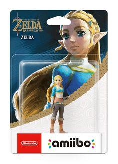 Zelda - Breath of the Wild - Zelda Amiibo #ZeldaBreathOfTheWild #Zelda #Amiibo #nintendo #geek