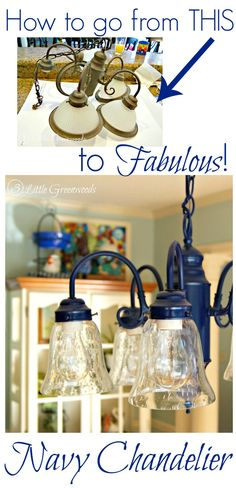 Wonderful! How to Upcycle a Chandelier with Spray Paint #diychandelier #DIYHomeDecor #DIYKitchenProjects #SprayPaintingaChandelier