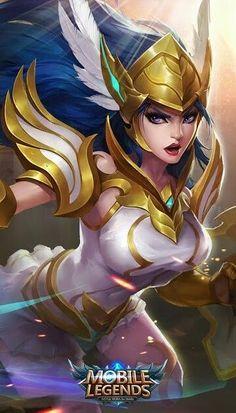 Mobile Legends Freya Build e dicas Mobile Legend Wallpaper, Hero Wallpaper, Fantasy Characters, Female Characters, Mobiles, Game Character, Character Design, Moba Legends, God Of War