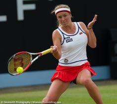 Elina Svitolina at the Topshelf Open. I love this Ellesse kit!