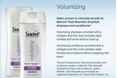 Love this stuff!  Works just as well as the pricey product! #suavefamily