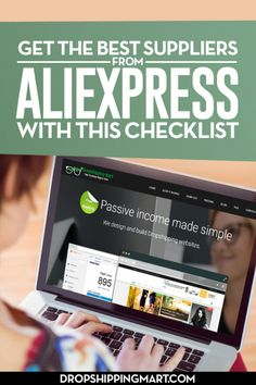 Get the Best Suppliers from Aliexpress with this Checklist - How to start dropshipping? - Get the Best Suppliers from Aliexpress with this Checklist and learn in depth how aliexpress dropshipping business workstips and tricks. Work From Home Moms, Make Money From Home, Way To Make Money, Make Money Online, Money Fast, Home Based Business, Business Tips, Business Marketing, Online Business