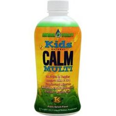 You Save More!  NATURAL VITALITY Kids Natural Calm Multi Fruit Splash 30 fl.oz free shipping #NATURALVITALITY