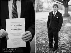 Groom Before Ceremony - Berkshire County Fall Wedding - Tricia McCormack Photography
