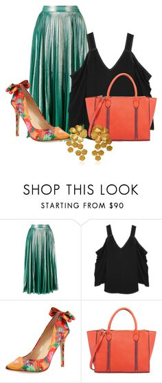 """""""Untitled #3716"""" by janicemckay ❤ liked on Polyvore featuring Gucci, Beaufille, Neiman Marcus and Jennifer Behr"""