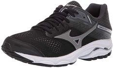 official photos 384d2 0e9c9 Mizuno Women s Wave Inspire 15 Running Shoe, Black-Dark Shadow, 6 B US
