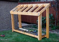 Diy Small Wood Shed Howtospecialist How To Build Step By Wood Shed Kits, Diy Shed Kits, Diy Storage Shed Plans, Backyard Storage Sheds, Wood Storage Sheds, Wood Shed Plans, Wooden Sheds, Backyard Sheds, Modern Backyard