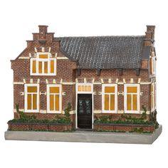 Seaside Village, Mini Gardens, Fairies, Christmas Crafts, Miniature, Cabin, House Styles, City, Home Decor