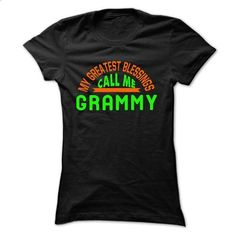 My Greatest Blessings Call Me Grammy - #hoodie upcycle #long hoodie. SIMILAR ITEMS => https://www.sunfrog.com/Faith/My-Greatest-Blessings-Call-Me-Grammy-Ladies.html?68278