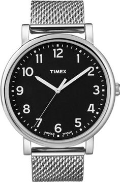 Timex Easy Reader Black Dial Mens watch T2N602 -- Details can be found by clicking on the image.