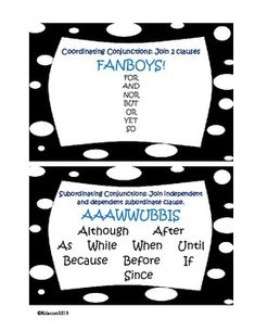 SENTENCE BUILDERS ACTIVITY: COMPOUND AND COMPLEX SENTENCES USING DICE - TeachersPayTeachers.com