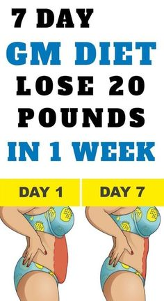 health fitness - GM Diet Plan To Lose 20 Pounds of Fat In 1 Week Diet Plans To Lose Weight, Losing Weight Tips, How To Lose Weight Fast, Quick Weight Loss Diet, Reduce Weight, Lose Fat, Healthy Weight, Weight Gain, Gm Diet Plans