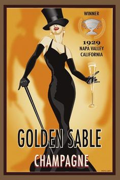 golden sable champagne 1929