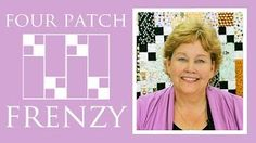 http:& - The Four Patch Frenzy Quilt: Easy Quilting Tutorial with Jenny Doan of Missouri Star Quilt Co. MSQC& Jenny teaches us how to ma. Jenny Doan Tutorials, Msqc Tutorials, Quilting Tutorials, Quilt Baby, Tutorial Patchwork, Missouri Star Quilt Tutorials, Patch Quilt, Quilt Blocks, Easy Quilts