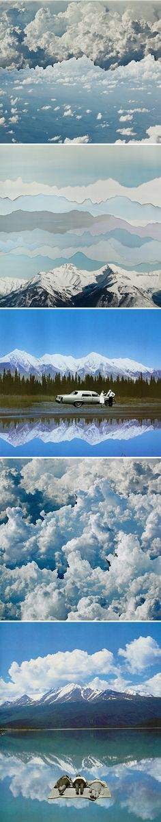 dreamy collages by becky comber <3