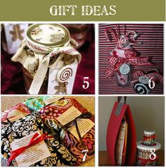 I'm broke, so these cheap & homemade gifts are great ideas!