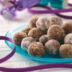 Made these rum balls and they came out great!  Very simple and a nice treat that isn't too sweet.