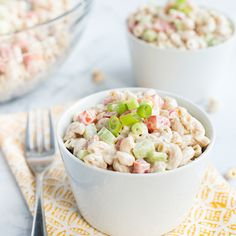 Do you love a good macaroni salad but often skip out on them, since they're loaded withextra fat [...]