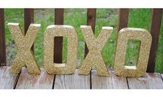 Image result for gold xoxo decor