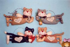 Diversos Modelos de Gatinhos Alados