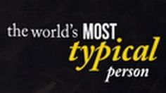 7 Billion: Are You Typical? -- National Geographic Magazine, via YouTube.