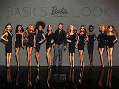 theblackdolllife:Barbie Basics & Look African American (by davidbocci. Dolly Fashion, Fashion Dolls, Bjd, Barbie Paper Dolls, Barbies Dolls, Dolls Dolls, Barbie Basics, Barbie Diorama, African American Dolls