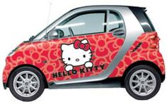 Wonder if they'd do a Hello Kitty™ wrap for a '94 Honda Civic....