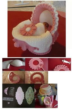 Baby cod Cake Topper Tutorial, Fondant Tutorial, Fondant Baby, Fondant Cakes, Baby Shower Cake Designs, Biscuit, Baby Mold, Baby Cake Topper, Baby Girl Cakes