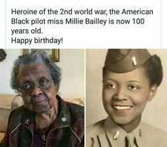 Millie Bailey First African American pilot Black Power, Black History Facts, Black History Month People, Black History Inventors, By Any Means Necessary, Black Pride, My Black Is Beautiful, Faith In Humanity, African American History