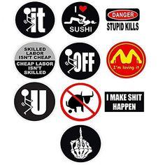 Road Whore Hard Hat Sticker Lunch Box Sticker S-2
