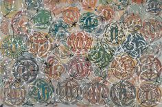 copyrighted material. pls. credit and link via the modern sybarite. find @   http://www.themodernsybarite.com/2011/09/philip-taaffe-one-of-best-painters-in.html