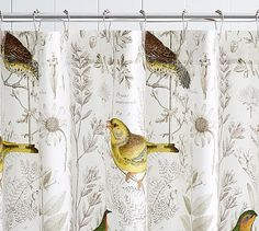 Find shower curtains, curtain hooks and accessories for an easy bathroom update. Pottery Barn's fabric shower curtains feature cotton and compliment any space. Easy Bathroom Updates, Simple Bathroom, Shower Curtain Hooks, Fabric Shower Curtains, Shower Accessories, Patterns In Nature, Home Decor Inspiration, Decor Ideas, Beautiful Bathrooms