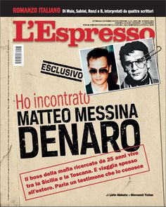 La copertina dell'Espresso in edicola da domenica 25 marzo