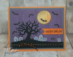 Stampin' Up! Spooky Fun and Halloween Scenes Edtelits Bundle - Lynn Weiss