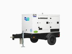 Doosan Portable Power three new mobile generators #construction #canada