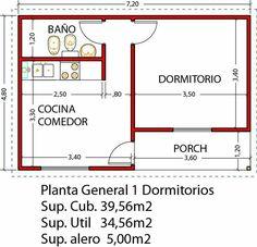 Studio Floor Plans, Small House Floor Plans, Tyni House, Tiny House Cabin, Tiny House Layout, House Layouts, Small Space Interior Design, Small House Design, Bedroom House Plans