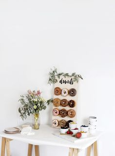 DIY Donut Wall @them