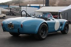 AC Shelby Cobra FIA Roadster (Chassis CSX2323 - 2013 Monterey Motorsports Reunion) High Resolution Image