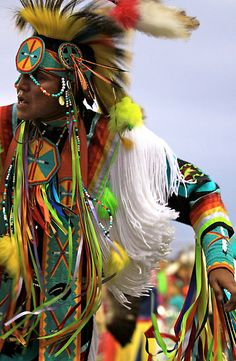 A Lakota man dances to the ancient rhythms of his Ancestors. The Lakota people are an indigenous people of the Great Plains of North America. They are part of a confederation of seven related Sioux tribes, the Očhéthi Šakówiŋ or seven council fires, and speak Lakota, one of the three major dialects of the Sioux language. Today, the Lakota are found mostly in five reservations of western South Dakota. ©Kate Purdy