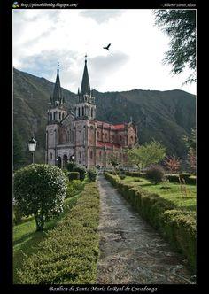 church in Covadonga