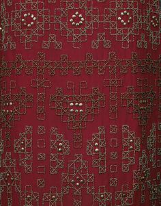 Queen Maud of Norway's day dress (detail), 1924-1925, at the National Museum of Art, Architecture and Design