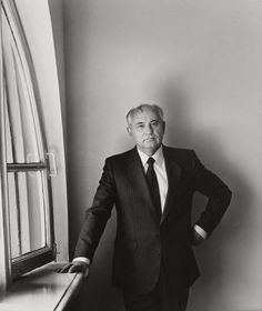 Herb Ritts | Mikhail S. Gorbachev, Moscow 1992