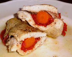 Jarabe de Arce: Pechugas de pollo rellenas.