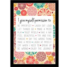 PRINTABLE Brene Brown inspired 5x7 print by LifesAnOccasion