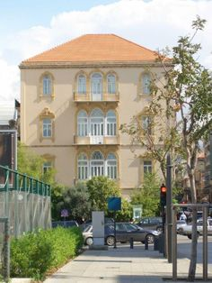 Beirut: A beautiful building refurbished.