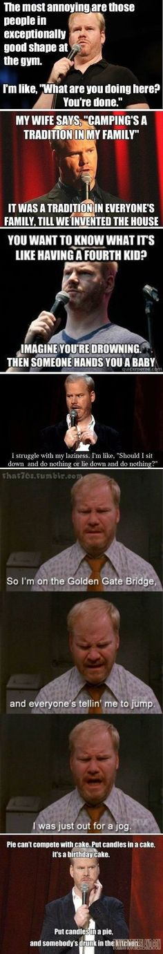 LOL! Check this out Jim Gaffigan Comp
